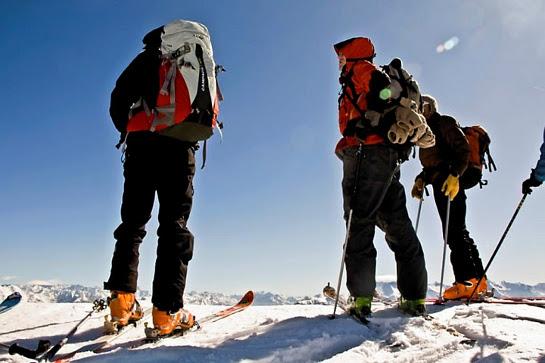 ski de randonnée en vercors et devoluy en isere
