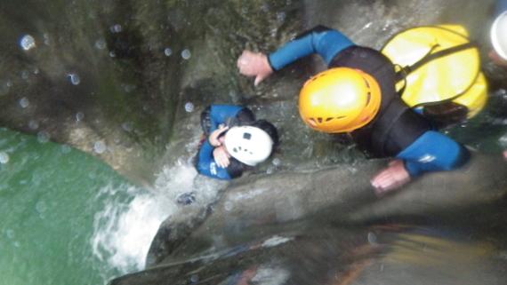 canyon grenoble isere vercors lyon canyoning bourg oisans
