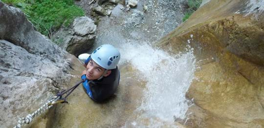 canyoning grenoble vercors isere