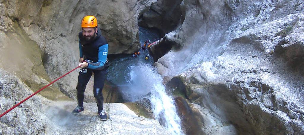 canyoning grenoble lyon ecouges