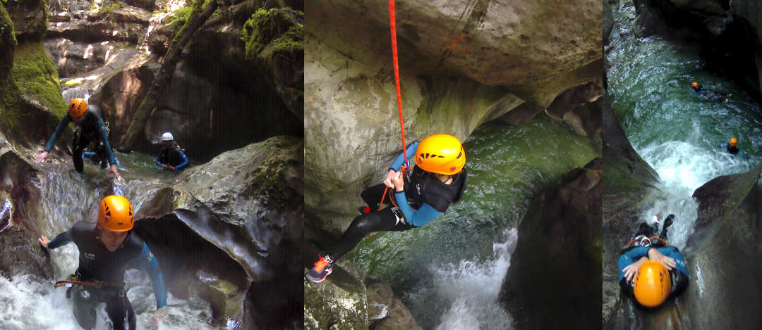 canyoning furon grenoble vercors